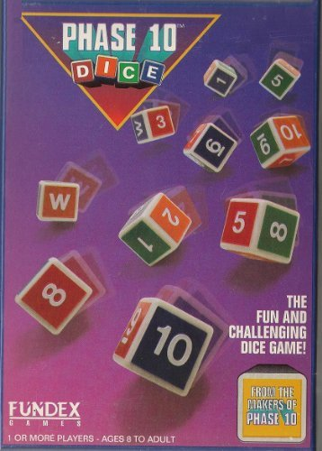 Phase 10 Dice; a Roll & Score Dice Game (Christmas Dice Game)