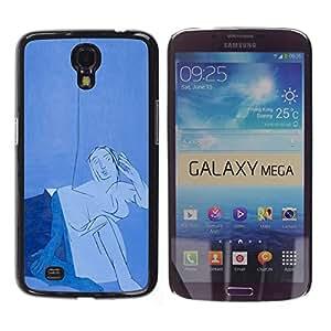 Be Good Phone Accessory // Dura Cáscara cubierta Protectora Caso Carcasa Funda de Protección para Samsung Galaxy Mega 6.3 I9200 SGH-i527 // Japanese fat