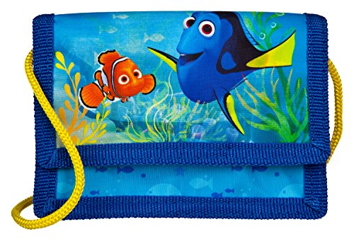 Undercover Geldbeutel Disney Pixar Findet Dorie, Circa 13 x 8 x 5 cm Münzbörse, Blau
