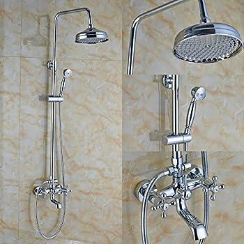bathtub faucet with shower head. rozin chrome bathroom 8\ bathtub faucet with shower head