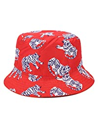Joylife Animal Print Bucket Hat Unisex Fisherman Cap Reversible Packable Sun Caps Cute Waterproof Hats
