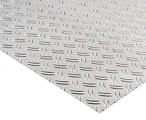 Alu Riffelblech Warzenblech Duett Aluminium Tr/änenblech Alublech 500x1200x1,5//2,0 mm