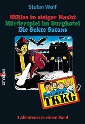 TKKG Sammelband 13: Hilflos in eisiger Nacht/Mörderspiel/Die Sekte Satans