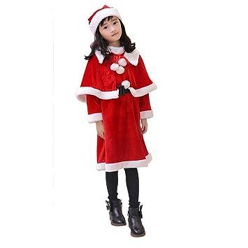Njfj Disfraz De Santa Claus Vestido De Navidad De Terciopelo