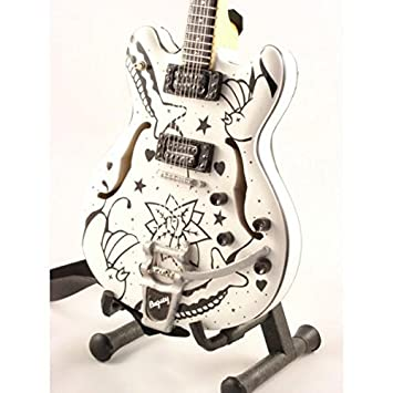 Mini guitarra de colección - Replica mini guitar - The Cure - Porl Thompson - Corsair: Amazon.es: Instrumentos musicales