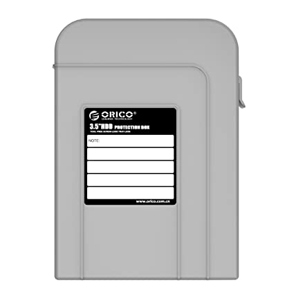 ORICO 3.5 Inch Hard Disk Drive HDD Storage Protection Box Hard Shell Carrying Case - Gray  sc 1 st  Amazon.com & Amazon.com: ORICO 3.5 Inch Hard Disk Drive HDD Storage Protection ...