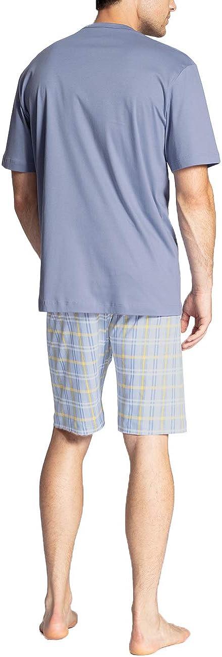 CALIDA Herren Relax Gentle Zweiteiliger Schlafanzug