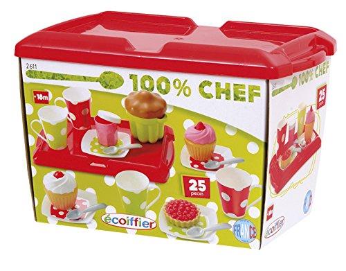 100% Chef Desayuno con cupckaes (Simba Toys 2611) E 26111