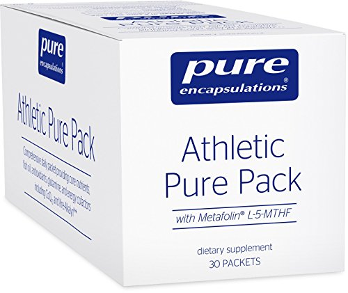 Core Nutrition Pack (Pure Encapsulations - Athletic Pure Pack - Comprehensive Daily Packet Providing Core Nutrients, Fish Oil, Antioxidants, Glutamine, and Energy Cofactors including CoQ10 and Kre-Alkalyn - 30 Packets)