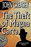 Front cover for the book Theft of Magna Carta by John Creasey