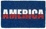 Entryways America, Hand-Stenciled, All-Natural Coconut Fiber Coir Doormat 18'' X 30'' x .75''