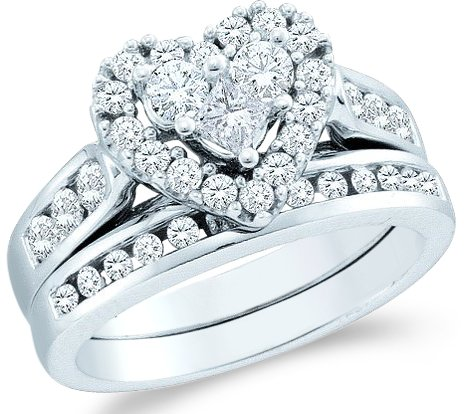 Heart Cut Diamond Solitaire Setting - 4