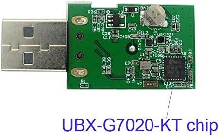 USB GPS Stick GNSS GLONASS Empfänger Modul Antenne G-7020 Notebook