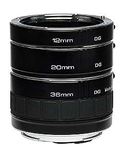Kenko Auto Extension Tube Set DG for Canon EOS Lenses A-EXTUBEDG-C