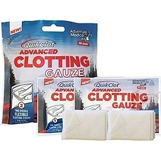 QuikClot Advanced Clotting Gauze with Kaolin