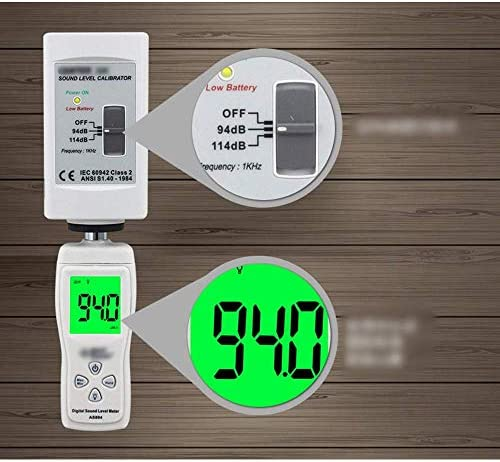 ZUQIEE Sound Level Meter Digital Noise Level Meter Decibel Meter Noise Detector (Size : 155 * 50 * 25mm)