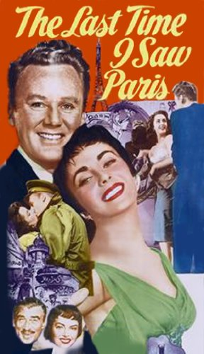Amazon Com The Last Time I Saw Paris Elizabeth Taylor