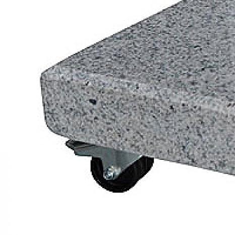 Soporte para sombrilla con ruedas – 700 x 700 mm – Stabielo® – Granito Soporte