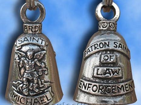 Amazon.com: Saint Michael Guardian Bell Gremlin Mod Harley ...