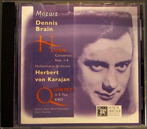 - Mozart: The Four Horn Concertos & Quintet K.452