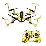 Image of Virhuck T915 Mini Toy RC Drone for Kids 2.4 GHz 4 CH 6 AXIS GYRO System LED Lights Headless / Inverted Flight / One Key Return Mode Quadcopter Camouflage (Green)