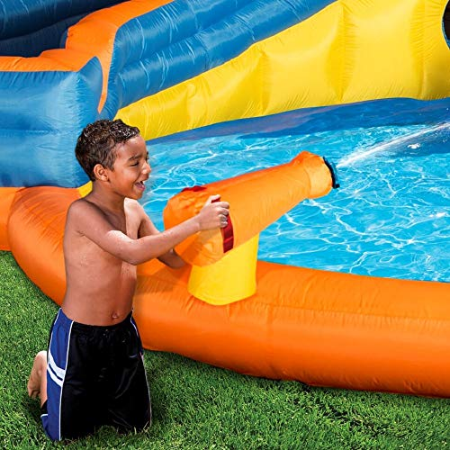 BANZAI Pipeline Twist Kids Inflatable Outdoor Water Pool Aqua Park and Slides by BANZAI (Image #3)