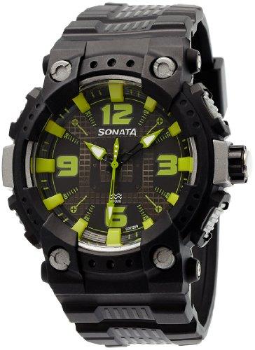 Sonata Ocean Series II Analog Multi-Colour Dial Men's Watch -NH77014PP03C