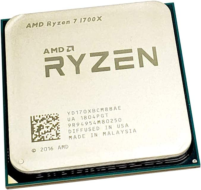 Amazon Com Amd Ryzen 7 1700x 3 4 Ghz Eight Core Oem Cpu Yd170xbcm88ae Socket Am4 Electronics