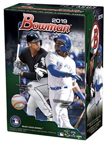 2019 Bowman Baseball Blaster Box (6 Packs/12 Cards: 5 Inserts) (Bowman Baseball Card Sets)