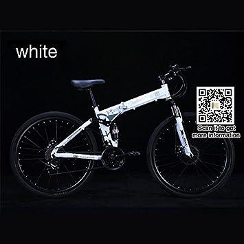 Yoli® Bicicleta de montaña de velocidad variable, todoterreno, para bicicleta de montaña bicicleta