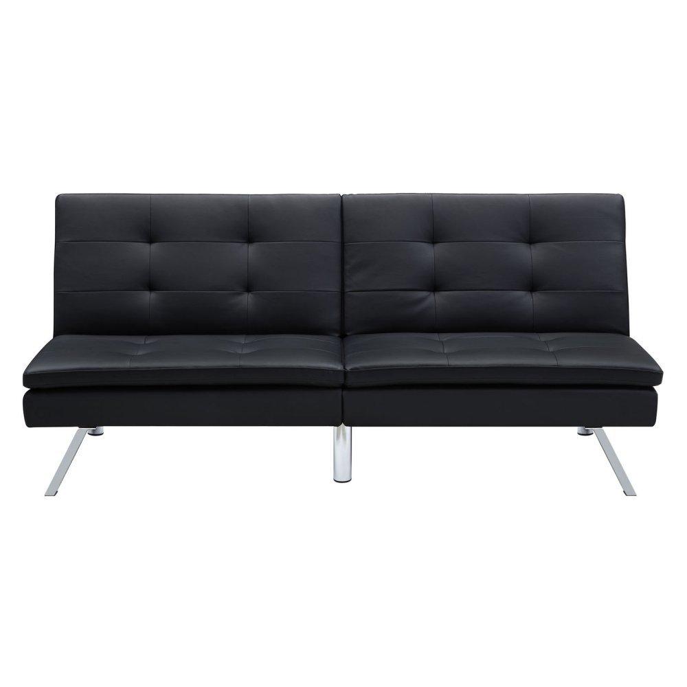 Amazon.com: Futon sofá cama salón Plazas de moderno de 2 ...