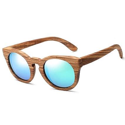 Gafas vintage para hombre Gafas de sol de madera polarizadas ...