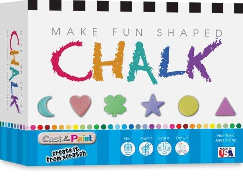 Skullduggery Cast and Paint Make Fun Shaped Chalk Casting (Fun Casting Kits)