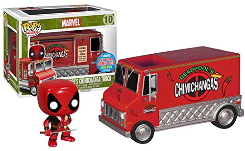 Funko Pop Rides Deadpool Exclusive Red Chimichanga Food Truck NYCC 2015