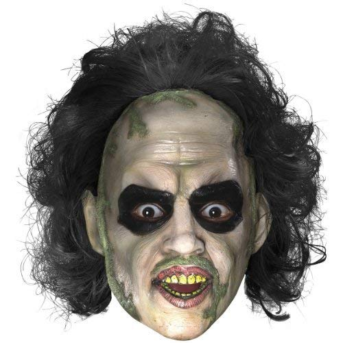 Rubie's Men's Beetlejuice 3/4 Mask with Hair, Multi, One Size]()
