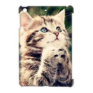 Fashion Design Back Case for Apple iPad Mini New Style Cute Adorable Ginger Kitten Cat Make A Vow