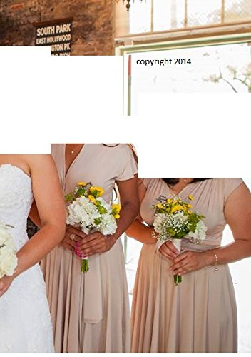 Henkaa Sakura Nude Beige Brown Convertible Dress One Size Fits All Bridesmaid