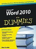 Word 2010 für Dummies