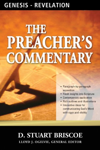 The preachers commentary series volumes 1 35 genesis revelation the preachers commentary series volumes 1 35 genesis revelation by briscoe fandeluxe Gallery