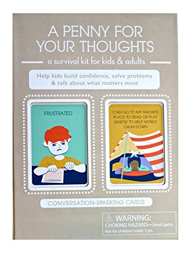- A Penny For Your Thoughts: Conversation Cards, Social Emotional Learning SEL, Feelings & Emotions Card Game, Social Skills Builder (Cards, 3 x 5)