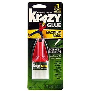 Krazy Glue KG483 Advanced Formula, .18 oz. Extra Strong, Durable, Precision Tip (EPIKG483)