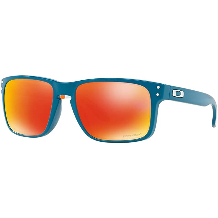 Amazon.com: Oakley Mens OO9102 Holbrook Square Sunglasses ...