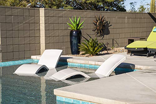 (S.R.Smith DS-1-52 Destination Pool Lounger, Gray)