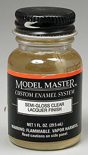 Semi Gloss Clear Lacquer Finish 1 oz. by Testor Corp.   B008J0UXM8