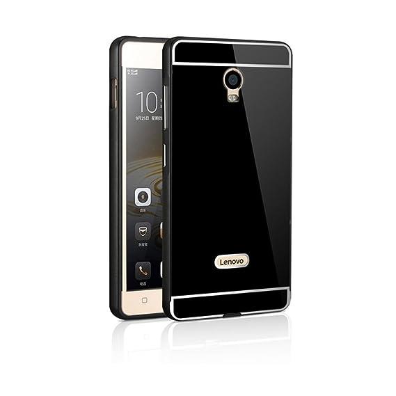 official photos 72bd8 903f0 Amazon.com: Tip-top Lenovo Vibe P1 Case,Aluminum Metal Bumper Frame ...