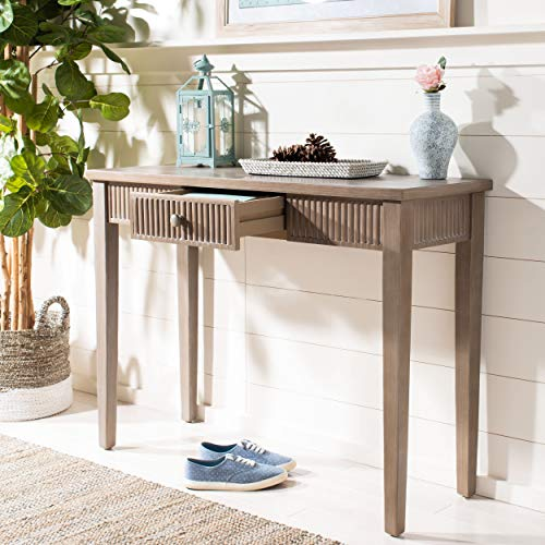 Safavieh AMH1528B American Home Collection Beale Console Table, Grey