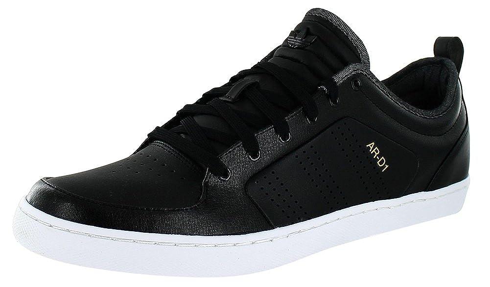 official photos 73391 e23b9 Amazon.com  adidas Adi AR-D1 Low G56001 BlackWhite Ortholite Leather  Originals Mens Shoes (Size 9.5)  Fashion Sneakers