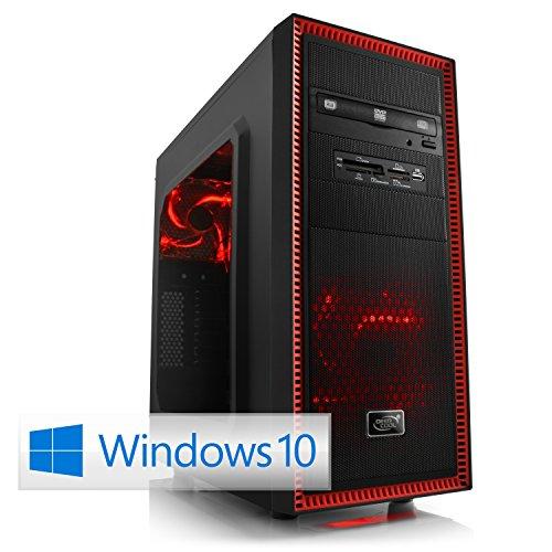 CSL Gaming PC Speed X4816Pro inkl. Windows 10 Pro - Intel Core i7-4790K 4x 4000MHz, 16GB RAM, 120GB SSD, 1000GB HDD, GeForce GTX 960, DVD, USB 3.0