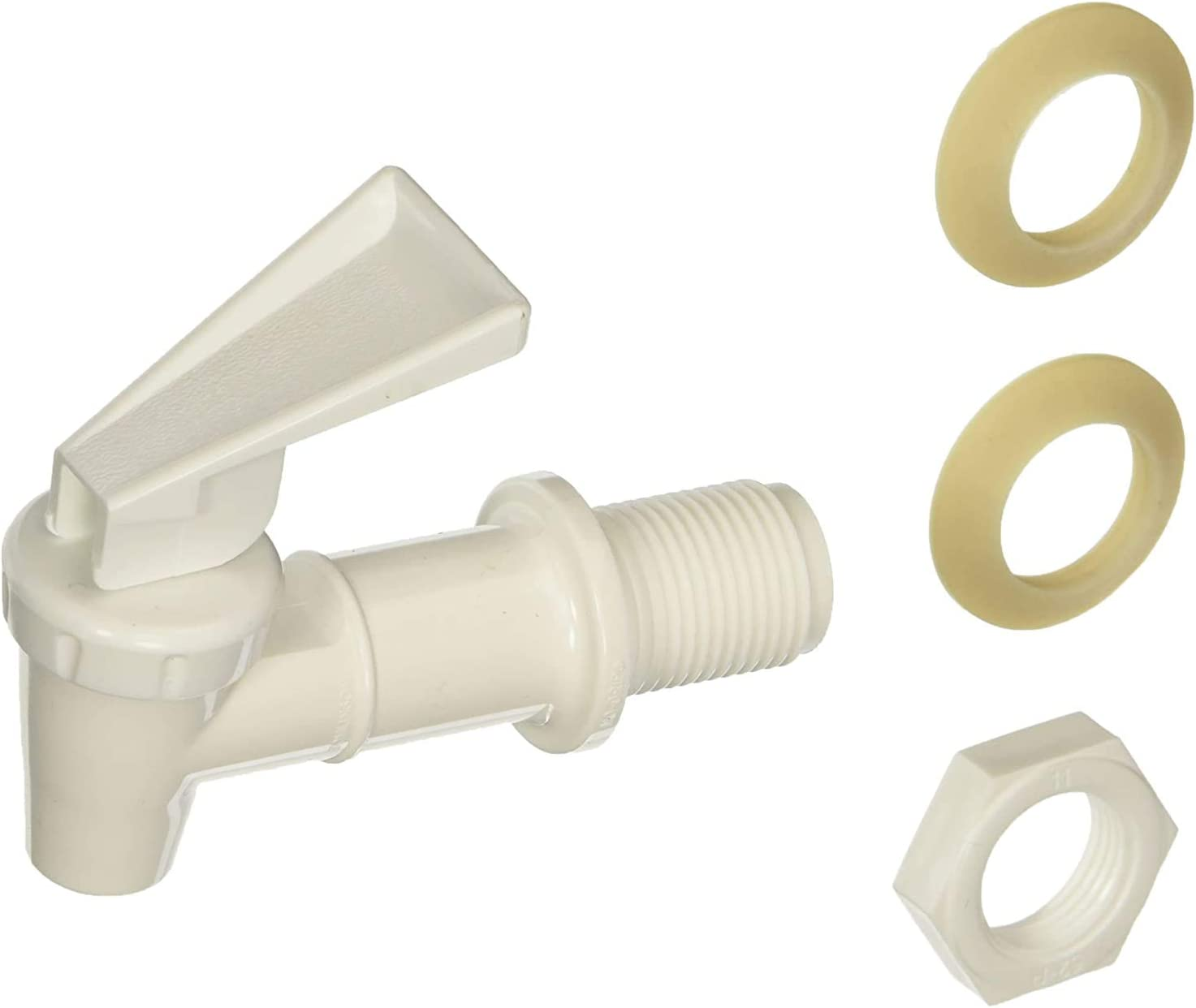 Cambro 46017 Replacement Faucet for Cambro DSPR6 6-Gallon Beverage Dispenser, White