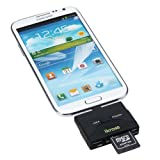 iKross Micro-USB 2-in-1 OTG / SD Memory Card Reader Adapter For Samsung Galaxy S6 / s6 Edge / S5 / S4 / Mega / Note 4 / Note 3 Android Smartphone Tablet